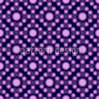 Violette Punkte Nahtloses Vektormuster