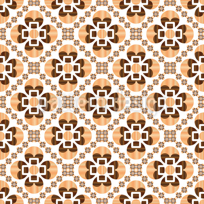 Woody Seamless Vector Pattern