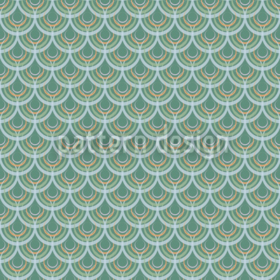Aquatix Nahtloses Muster