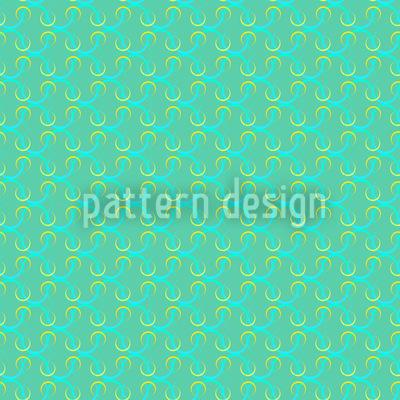 Eau Turque Seamless Vector Pattern