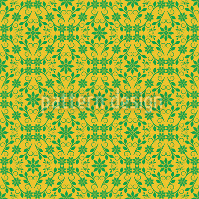 Green Grid Muster Design