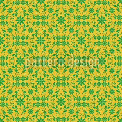 Raster der Blätter Muster Design