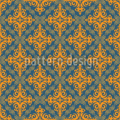 The Way Of The King Seamless Vector Pattern Design