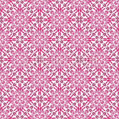Paradise Pink Pattern Design