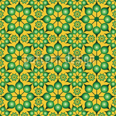 Dimensionierte Blumen Muster Design