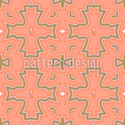 Croci color Salmone disegni vettoriali senza cuciture