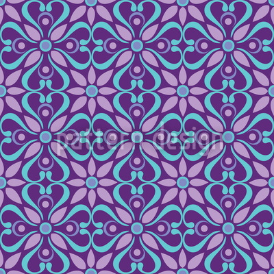 Oriental Dream Pattern Design