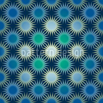 Gefrorene Sonnen Vektor Ornament