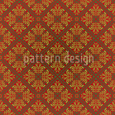 Renaissance Gold Repeating Pattern