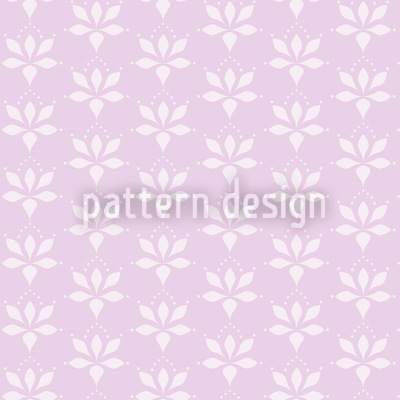 Blossom Drops Lavender Seamless Pattern