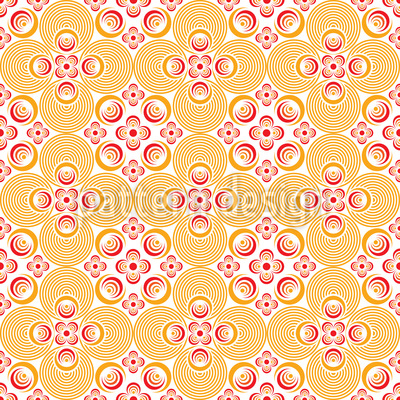 Bellini Seamless Pattern