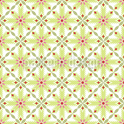 Flower Of Khan Pattern Design