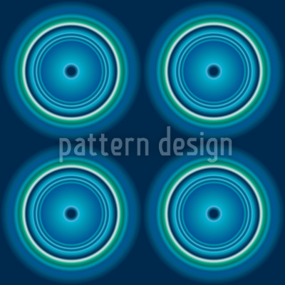 Fidelio Blue Seamless Pattern