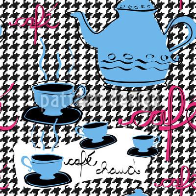 Petit Cafe Muster Design