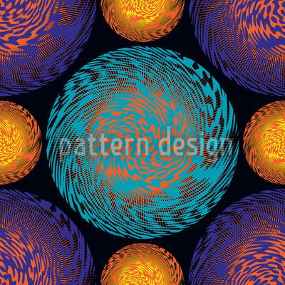 Planetopia Pattern Design