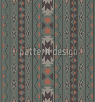 Ikat Pastel Seamless Vector Pattern Design