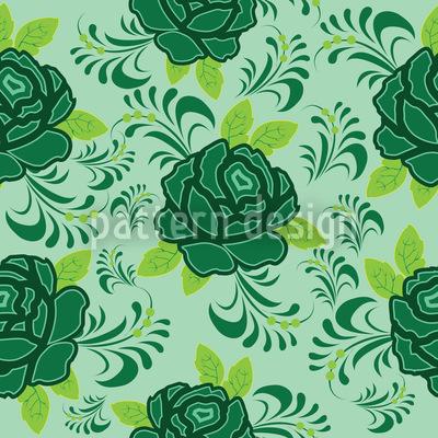 My Irish Rose Seamless Vector Pattern Design