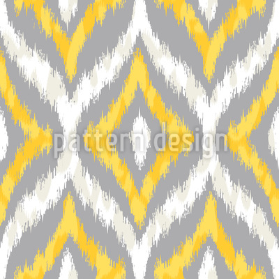 Animal Ikat Designmuster