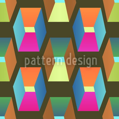 Magic Of Squares Vector Pattern