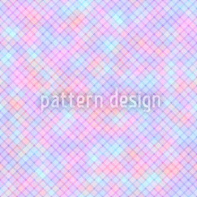 Soft Diamonds Seamless Vector Pattern Design