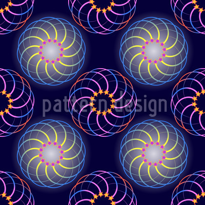 Galactic Dream Pattern Design