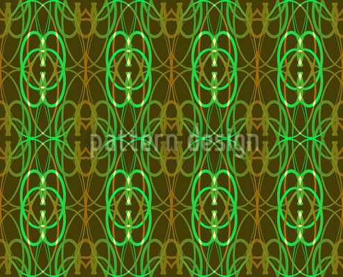 Art Moss Seamless Vector Pattern