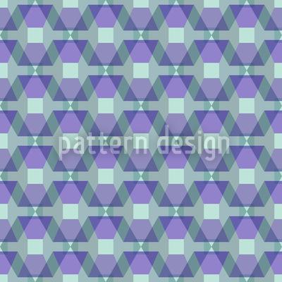 Hexagonia Auf Dem Trapez Rapportiertes Design