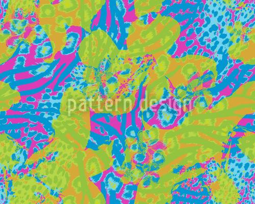 Sombras coloridas Design de padrão vetorial sem costura