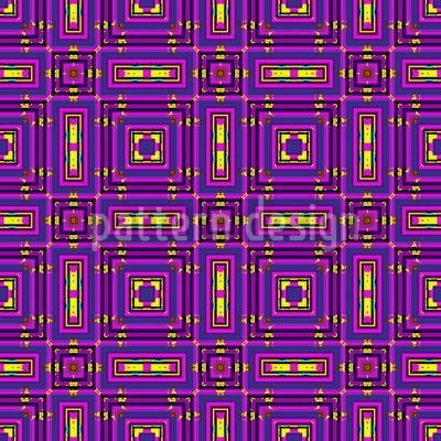 Five Brights Vector Pattern
