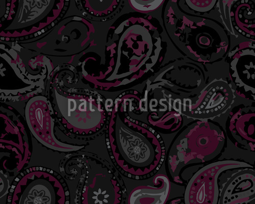 Mystisches Paisley Muster Design
