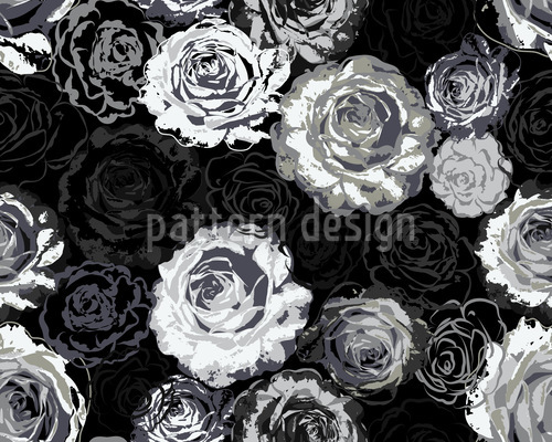Wo Die Wilden Rosen Wachsen Designmuster