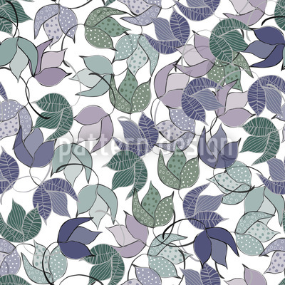 Dancing Bushes Seamless Pattern