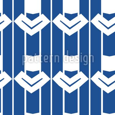 Deco Arrows Seamless Vector Pattern Design