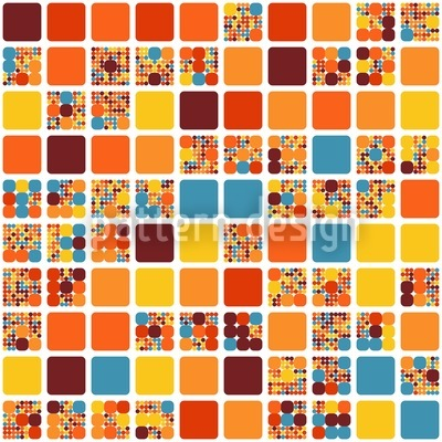City Blocks In Summer Design Pattern