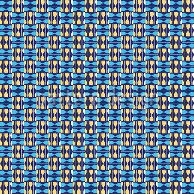 Bulcao Brasilia Seamless Pattern