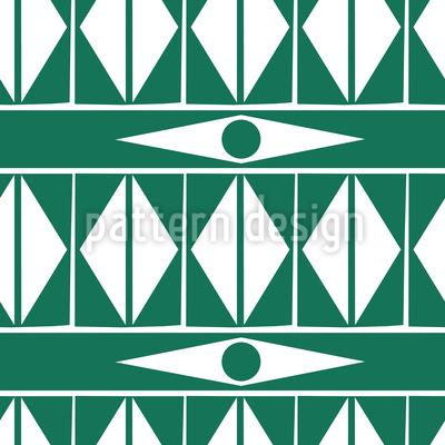 Ethno Triangel  Nahtloses Vektormuster