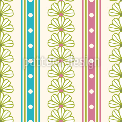 What Flowers Promise Seamless Vector Pattern Design