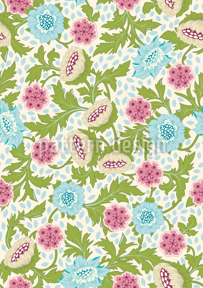 Precious Flower Dream Vector Ornament