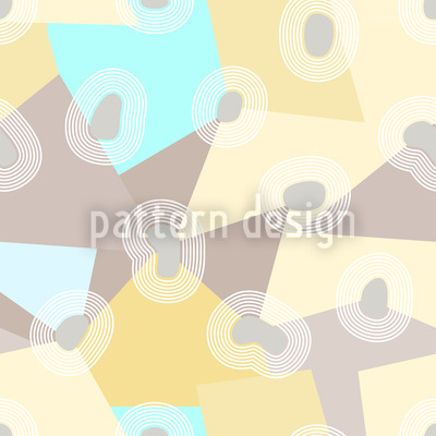 Pastel Islands Repeat Pattern