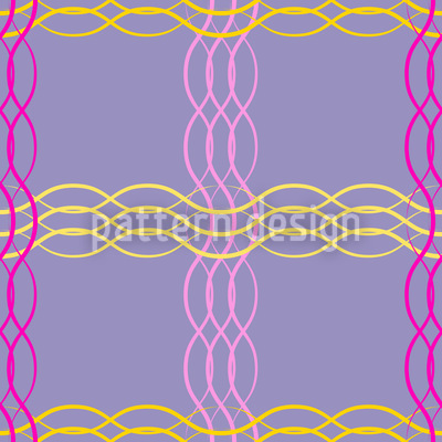 Wellen Überkreuz Designmuster