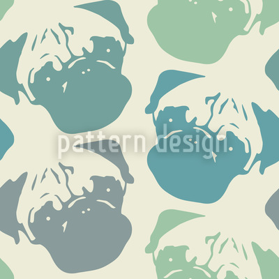 Puggy Pop Pastel Design Pattern
