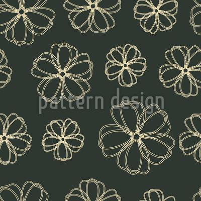 Flowers Pass Away Seamless Vector Pattern
