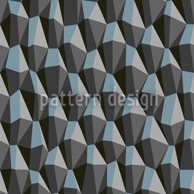 Geometric Steep Uphill Repeat Pattern