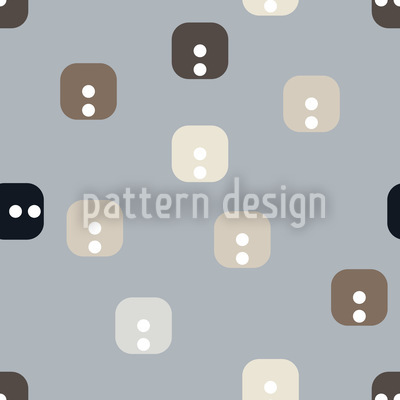 Buttoned Up Vector Ornament