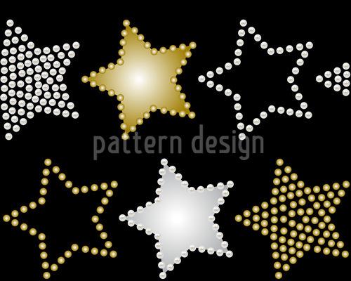 Magic Pearls Repeat Pattern