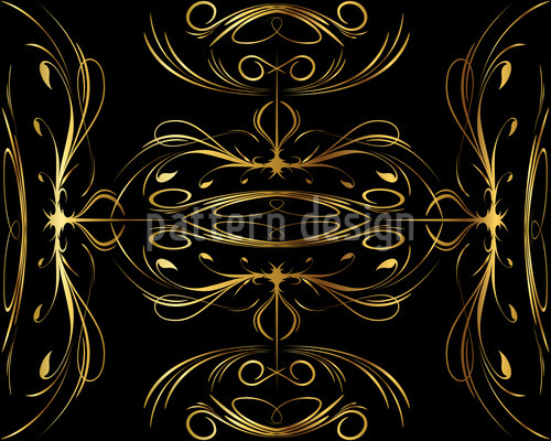 Spinning Gold Pattern Design
