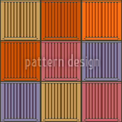 Container Colorful Loaded Vector Ornament