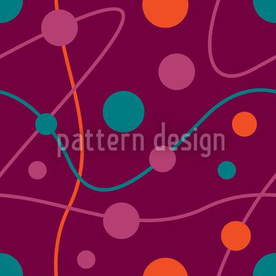 Circular Rounds Magenta Vector Design