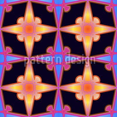 Fantasia Stellar Nahtloses Muster