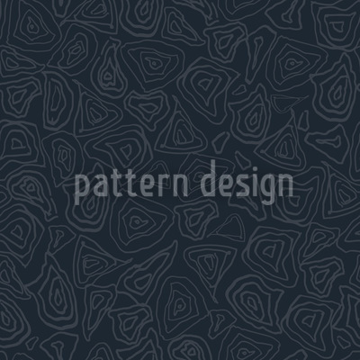 Batik Stones Smokey Blue Seamless Vector Pattern Design